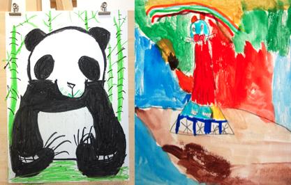 cours enfants dessin peinture 5 6 7 8 ans