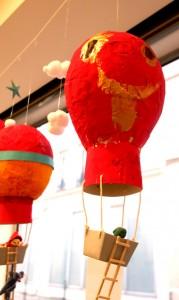 Mongolfiere enfants cours arts plastiques-ethan