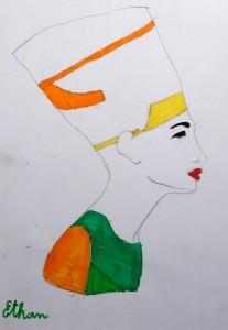 cours de dessin enfants_egypte ethan