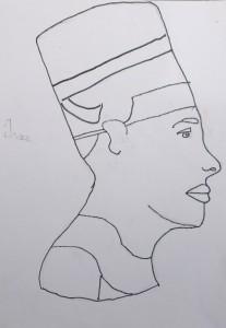 cours de dessin enfants_egypte isaac