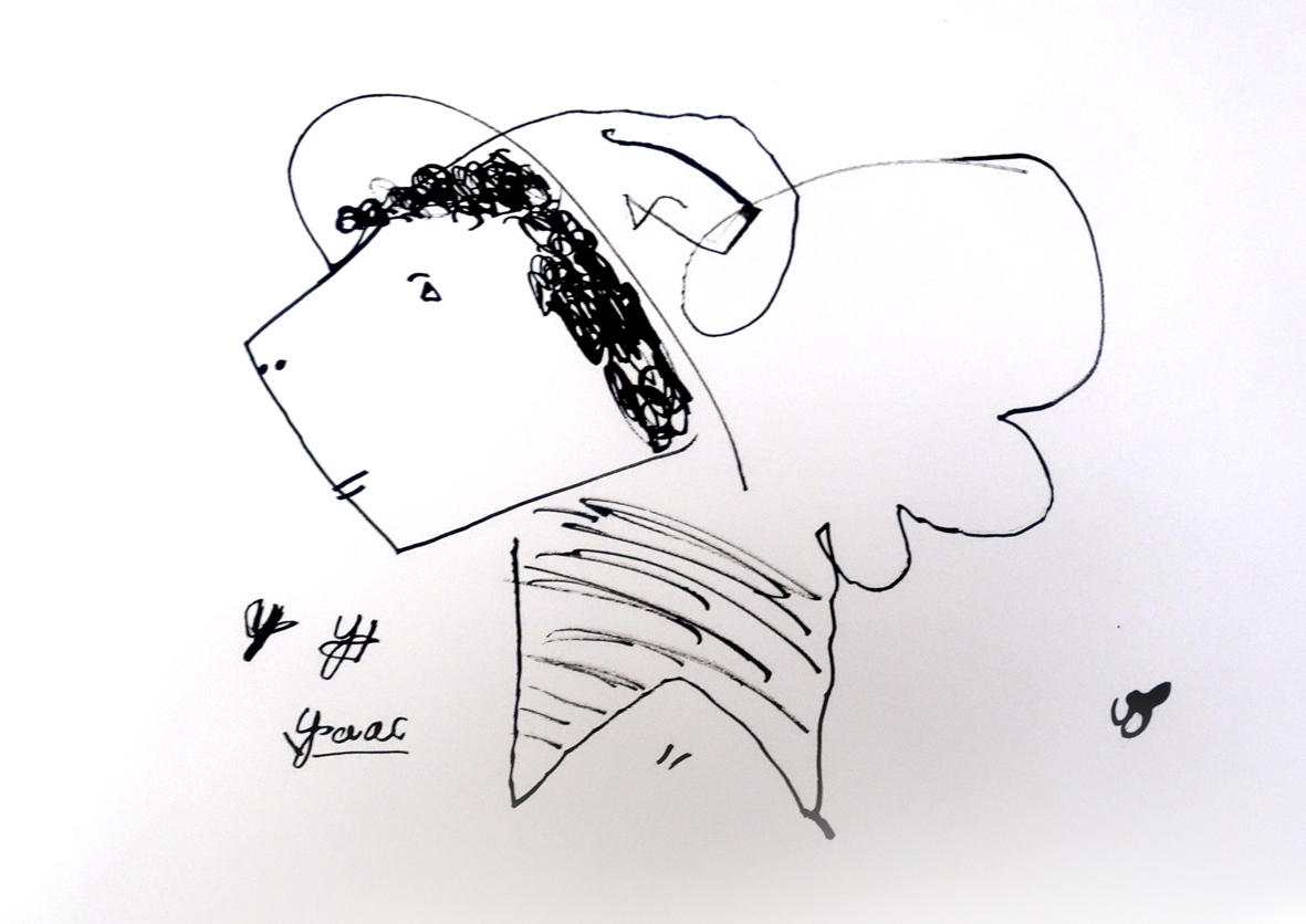 portrait-encre_cours-dessin-ado_75011_isaac-10-ans