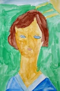cours de dessin enfants-75011-peinture samuel 7 ans