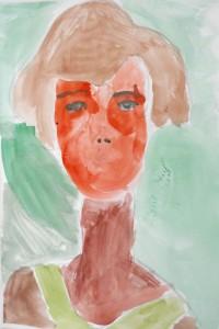 cours de dessin enfants-75011-portrait peinture