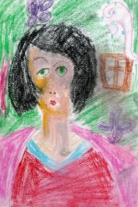 cours de dessin enfants-paris11-pastel Penelope 7 ans