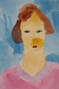 cours de dessin enfants-paris11-portrait peinture