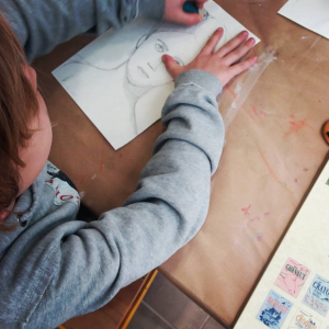 cours stage dessin printemps enfants_portrait