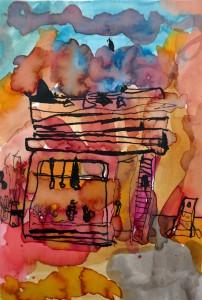 1 illustration encre-cours dessin peinture enfants_arts plastiques-paris 11