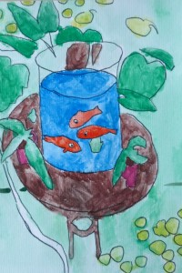 Poissons Matisse_cours dessin 11