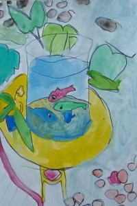 Poissons Matisse_cours dessin 14