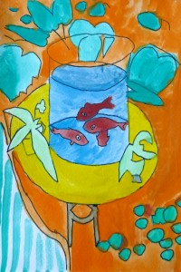 Poissons Matisse_cours dessin 18