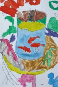 Poissons Matisse_cours dessin 4_