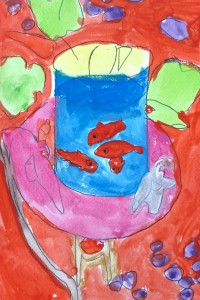 Poissons Matisse_cours dessin 6