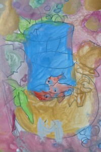 Poissons Matisse_cours dessin 8