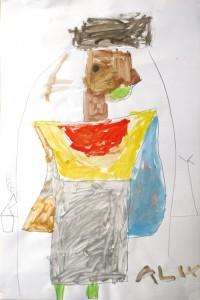 egypte_cours dessin enfant ado_paris 11_Alix 5 ans