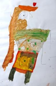 egypte_cours dessin enfant ado_paris 11_tiffany 5 ans