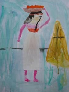 peinture egyptienne_Camille 7 ans copy